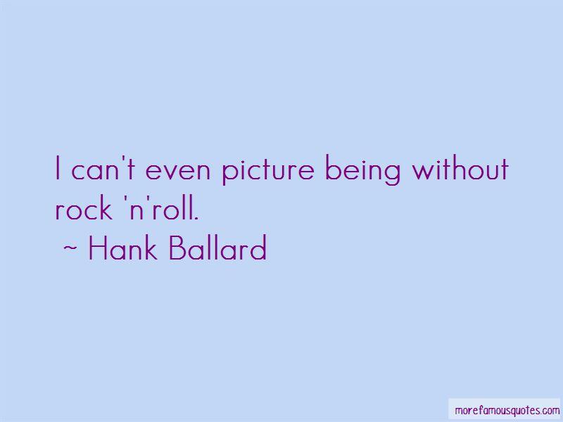 Hank Ballard Quotes