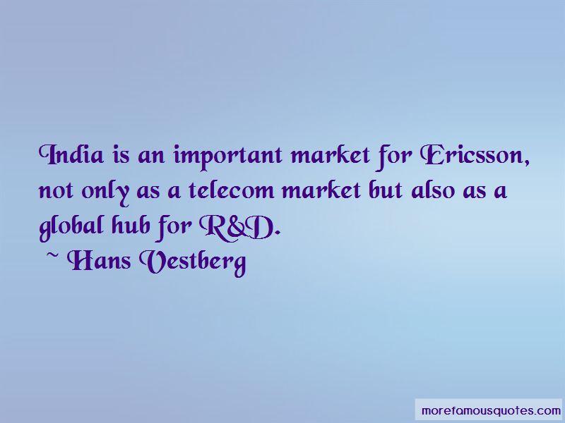 Hans Vestberg Quotes
