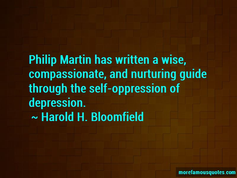 Harold H. Bloomfield Quotes Pictures 2