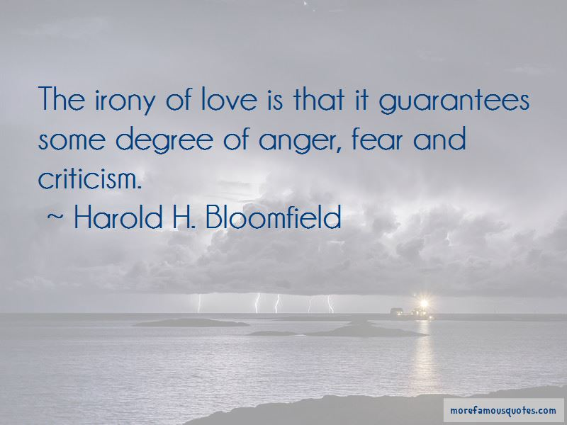 Harold H. Bloomfield Quotes Pictures 4