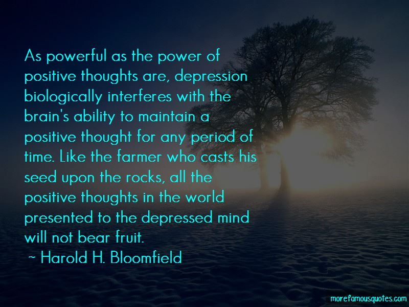 Harold H. Bloomfield Quotes