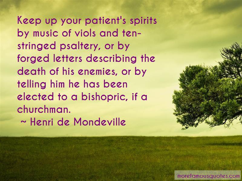 Henri De Mondeville Quotes Pictures 2