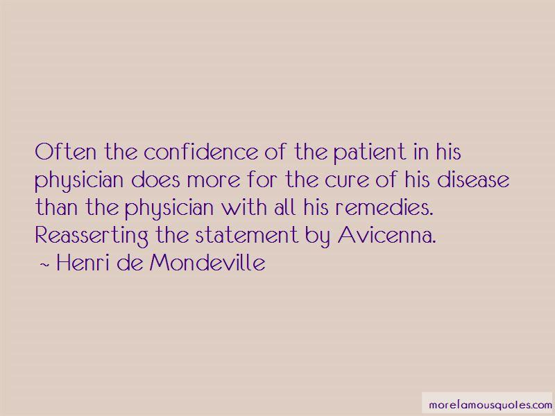 Henri De Mondeville Quotes Pictures 3
