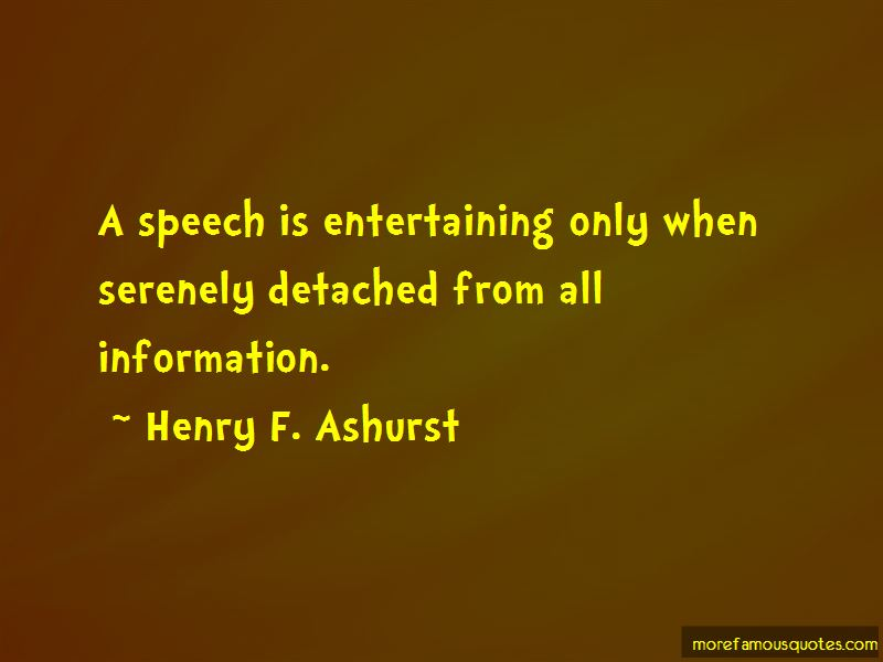 Henry F. Ashurst Quotes Pictures 4
