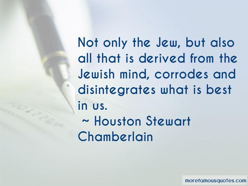 Houston Stewart Chamberlain Quotes