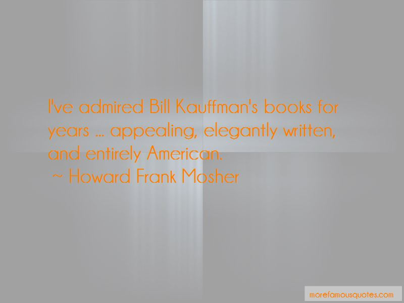 Howard Frank Mosher Quotes Pictures 3