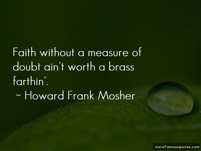 Howard Frank Mosher Quotes Pictures 4