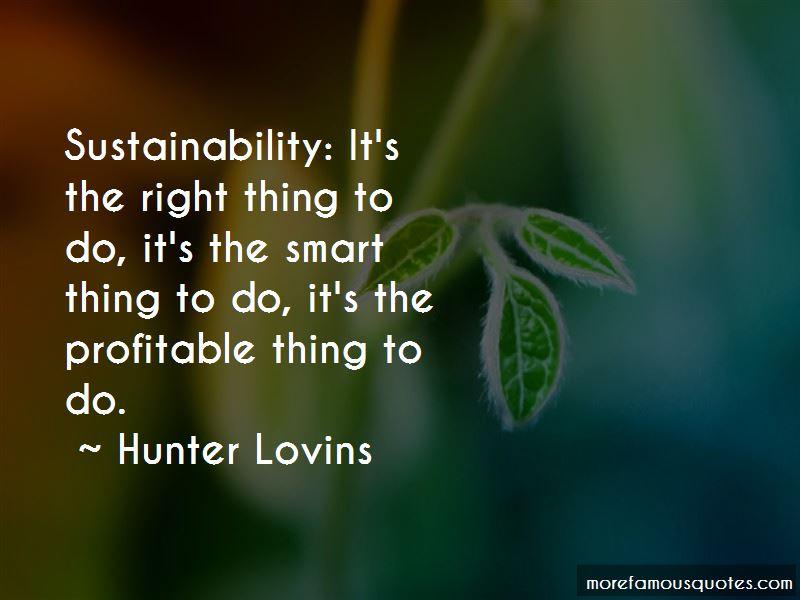 Hunter Lovins Quotes Pictures 3