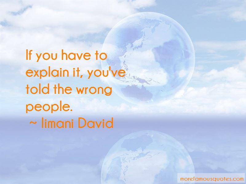 Iimani David Quotes Pictures 3