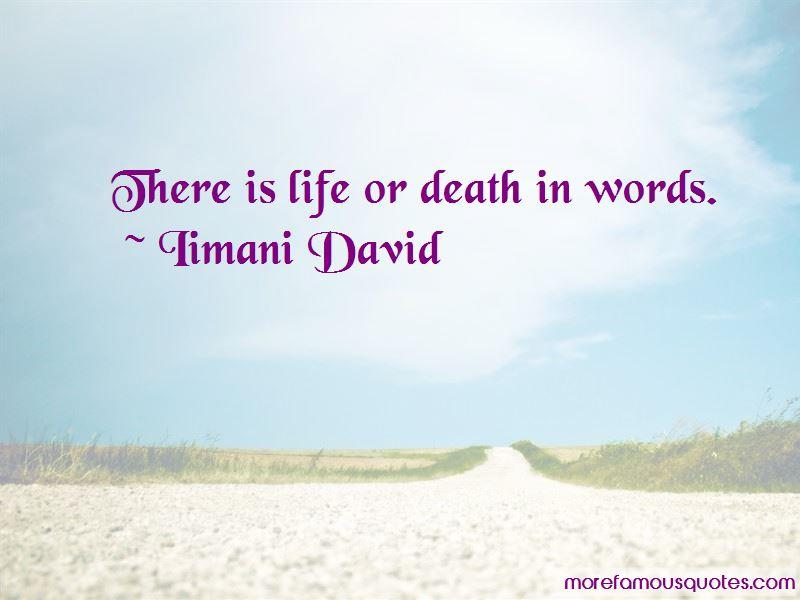 Iimani David Quotes Pictures 4