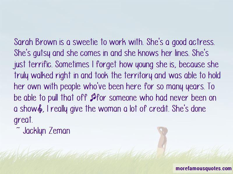 Jacklyn Zeman Quotes Pictures 2