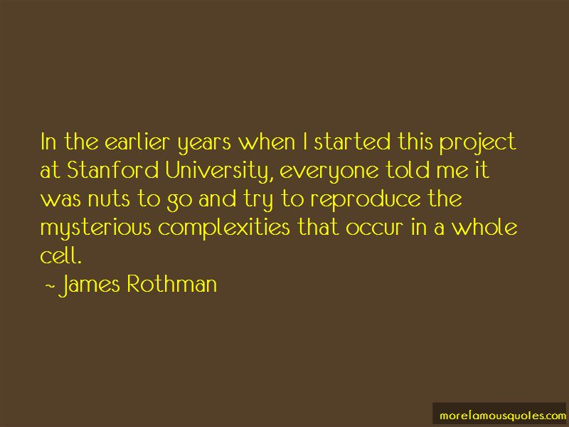James Rothman Quotes