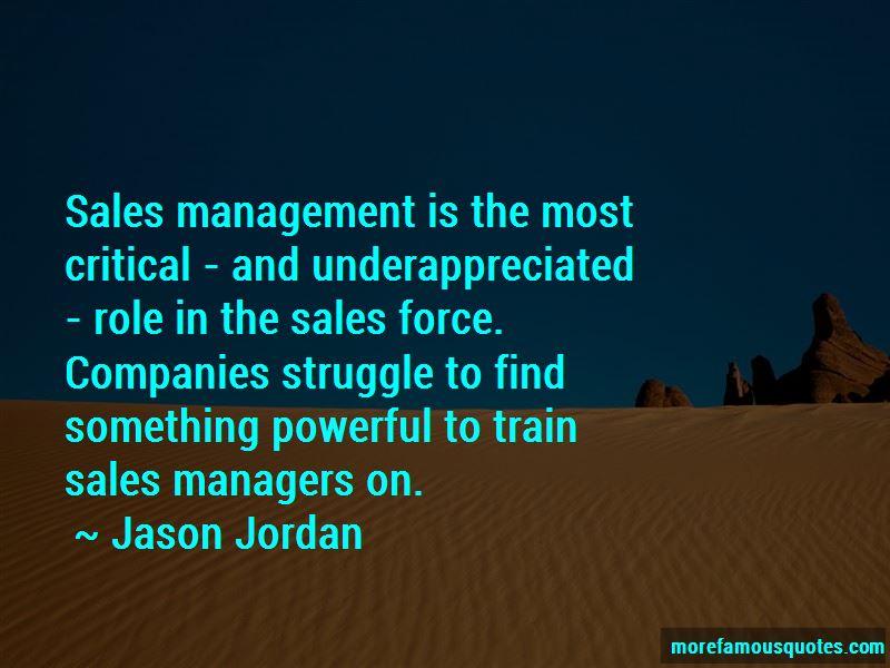 Jason Jordan Quotes