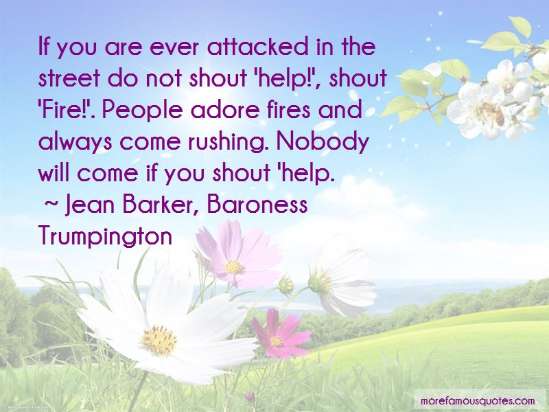 Jean Barker, Baroness Trumpington Quotes Pictures 2