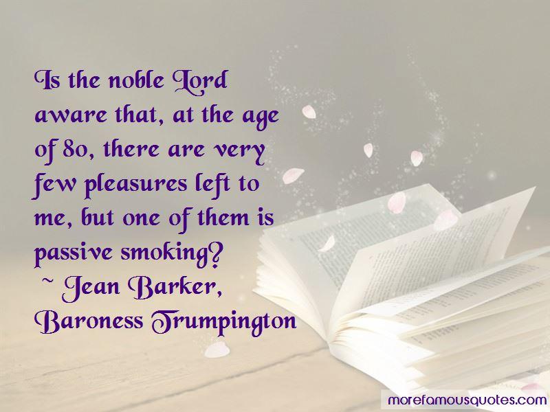 Jean Barker, Baroness Trumpington Quotes