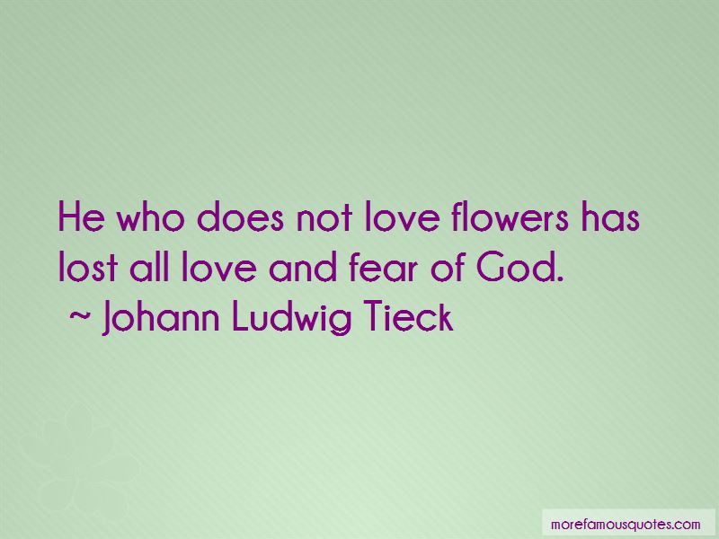 Johann Ludwig Tieck Quotes Pictures 2