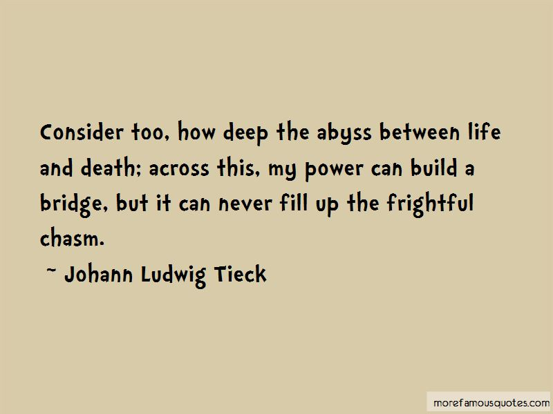 Johann Ludwig Tieck Quotes Pictures 3