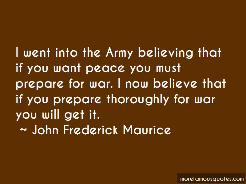 John Frederick Maurice Quotes