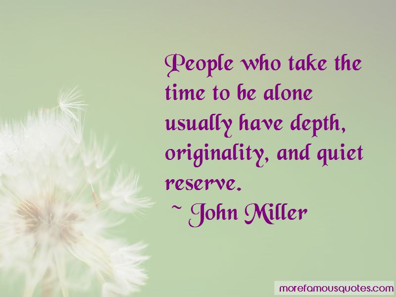 John Miller Quotes Pictures 2