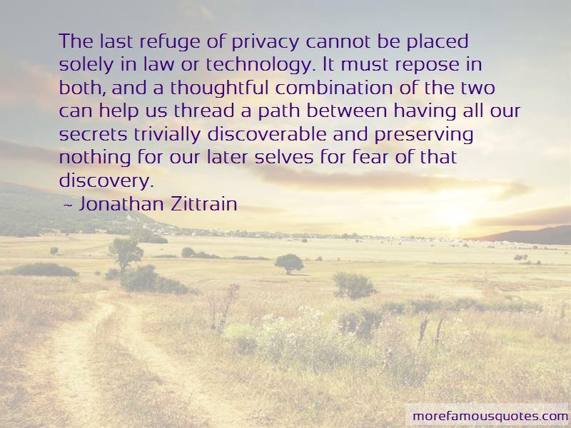 Jonathan Zittrain Quotes Pictures 3