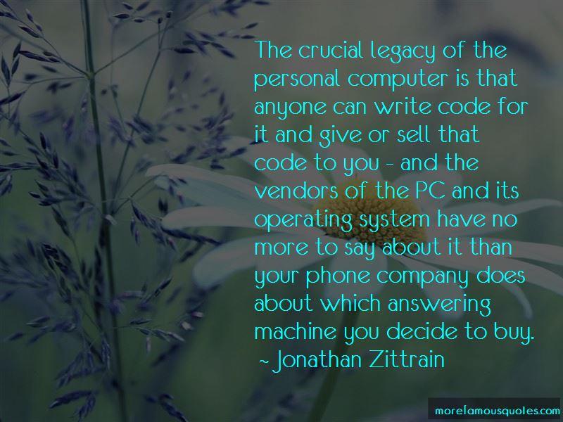 Jonathan Zittrain Quotes