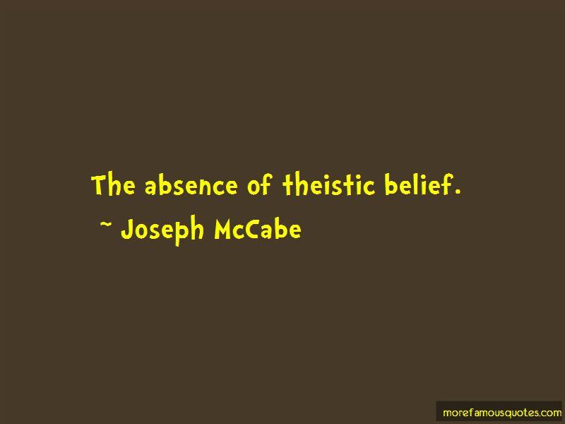 Joseph McCabe Quotes Pictures 2