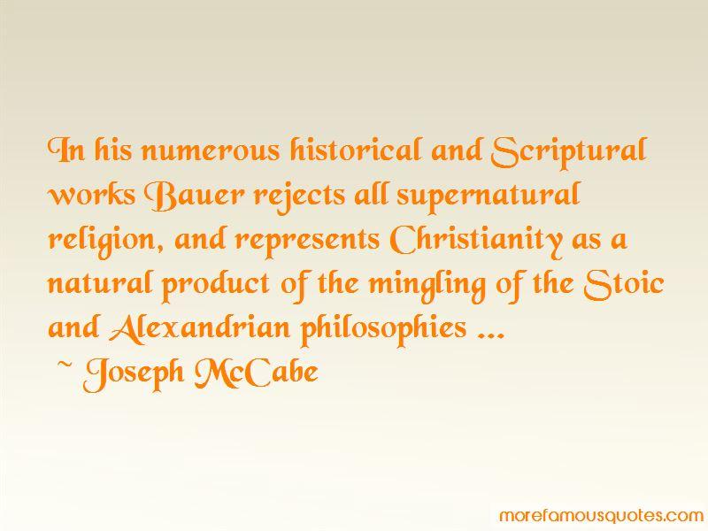 Joseph McCabe Quotes Pictures 4