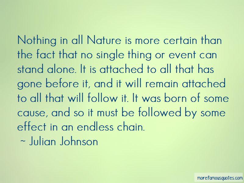 Julian Johnson Quotes