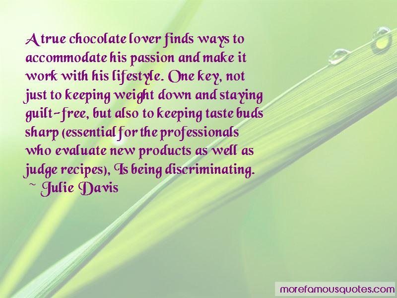 Julie Davis Quotes