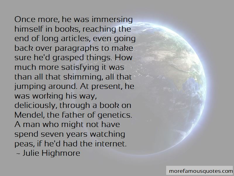 Julie Highmore Quotes