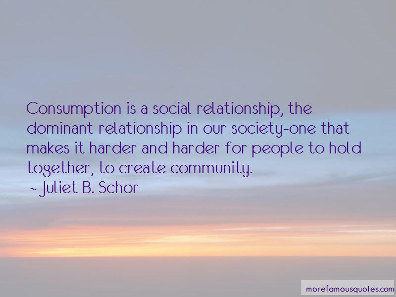 Juliet B. Schor Quotes
