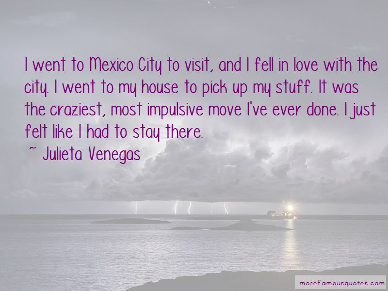 Julieta Venegas Quotes