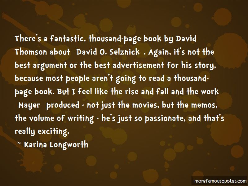 Karina Longworth Quotes Pictures 2