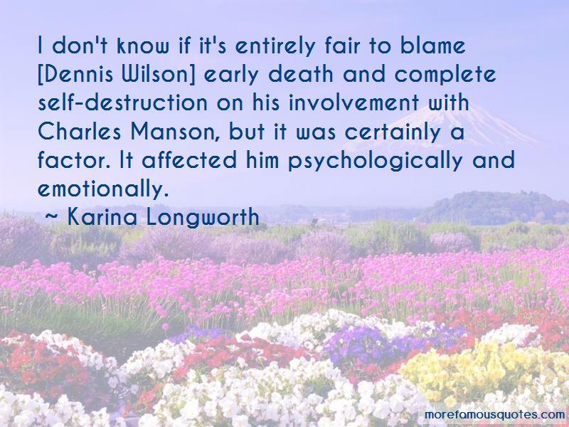 Karina Longworth Quotes