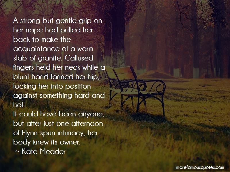 Kate Meader Quotes