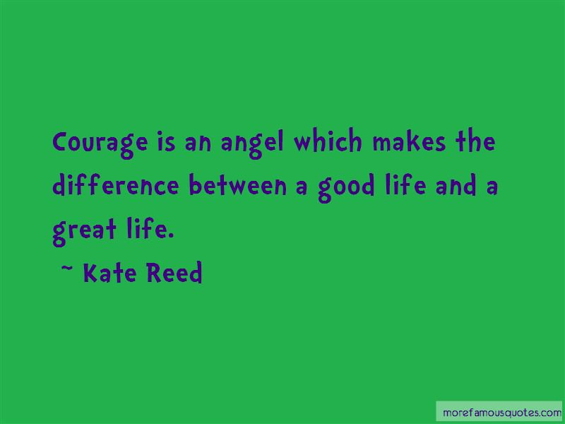 Kate Reed Quotes