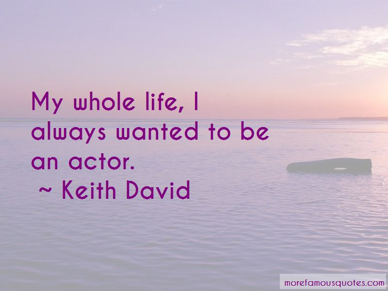 Keith David Quotes