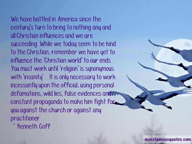 Kenneth Goff Quotes
