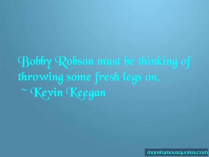 Kevin Keegan Quotes