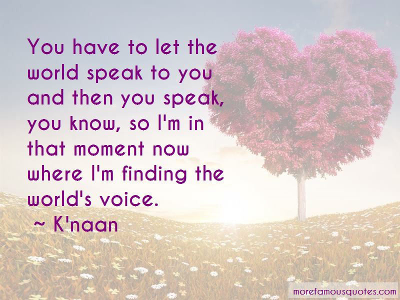 K'naan Quotes Pictures 2