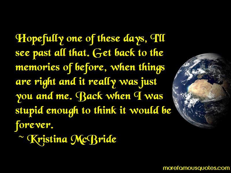 Kristina McBride Quotes Pictures 3