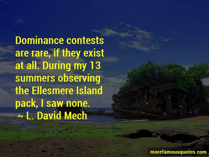 L. David Mech Quotes Pictures 2