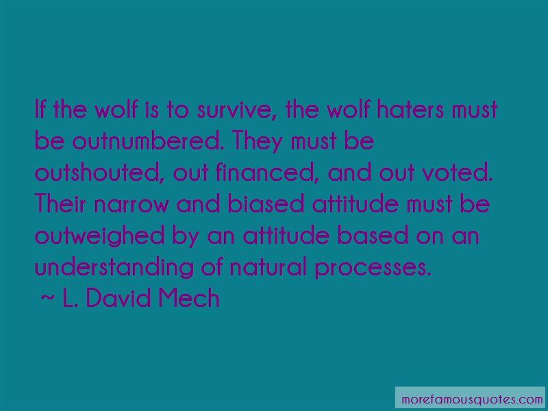 L. David Mech Quotes Pictures 4