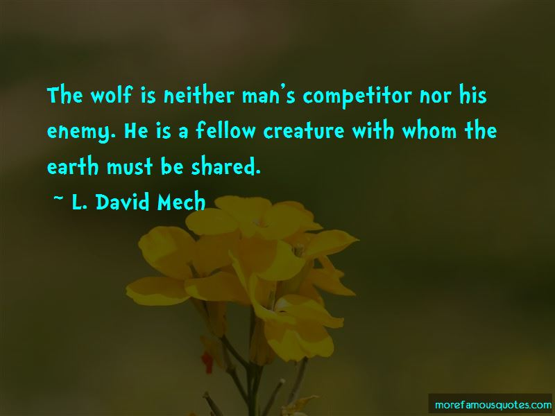 L. David Mech Quotes