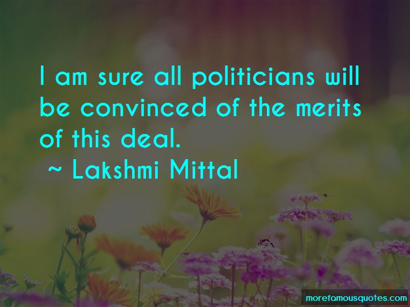 Lakshmi Mittal Quotes Pictures 3