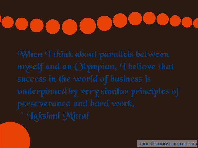 Lakshmi Mittal Quotes