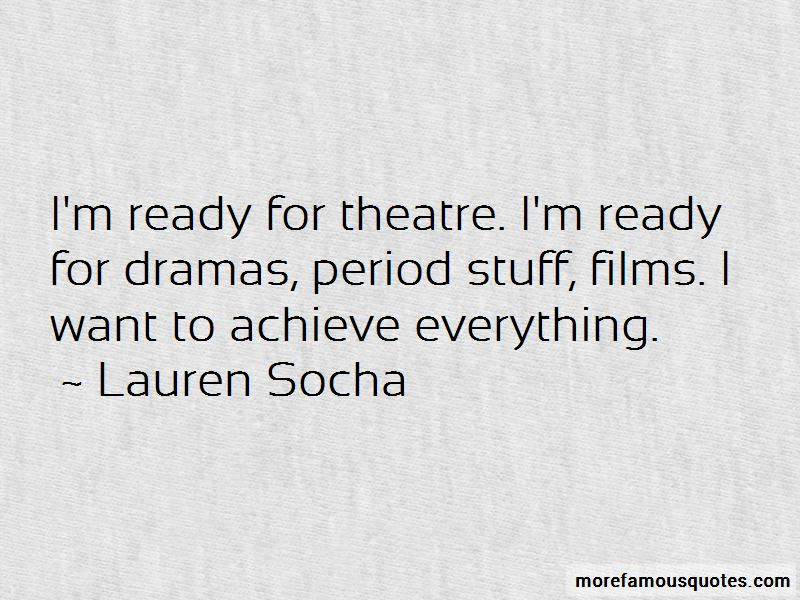 Lauren Socha Quotes Pictures 2