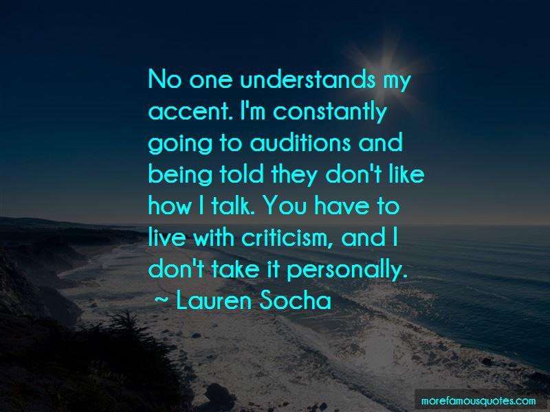 Lauren Socha Quotes Pictures 3