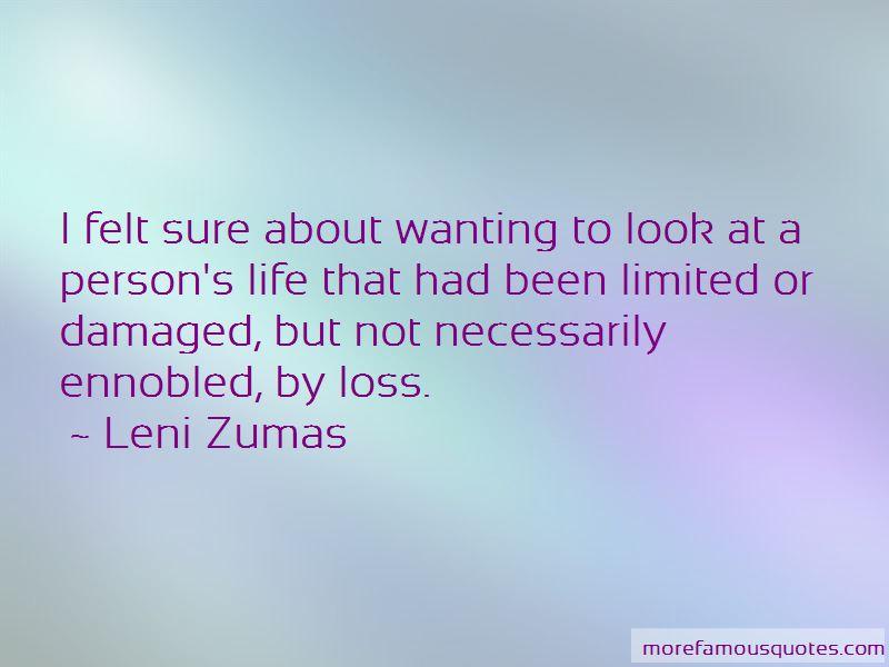 Leni Zumas Quotes