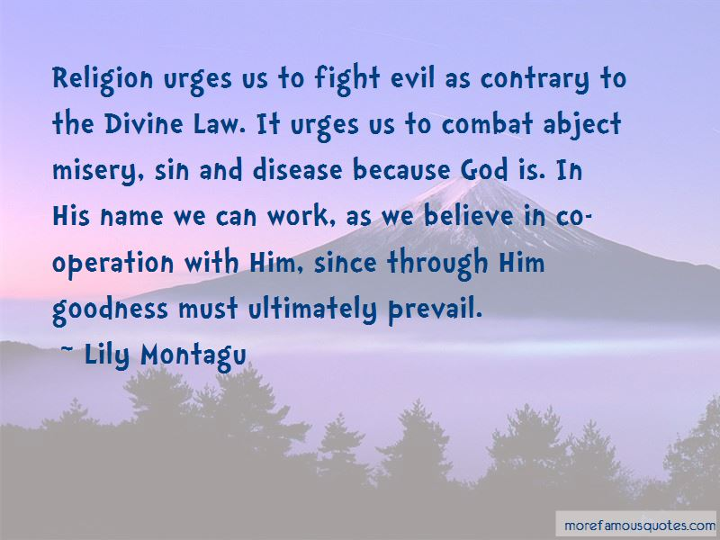 Lily Montagu Quotes